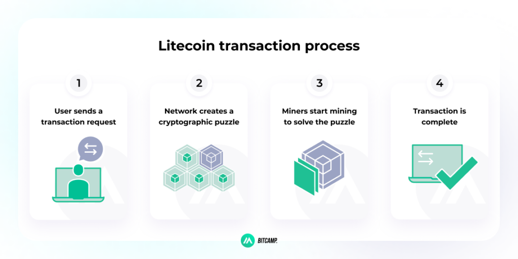 Litecoin Transaction Process