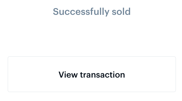 Reiff Sell view transaction